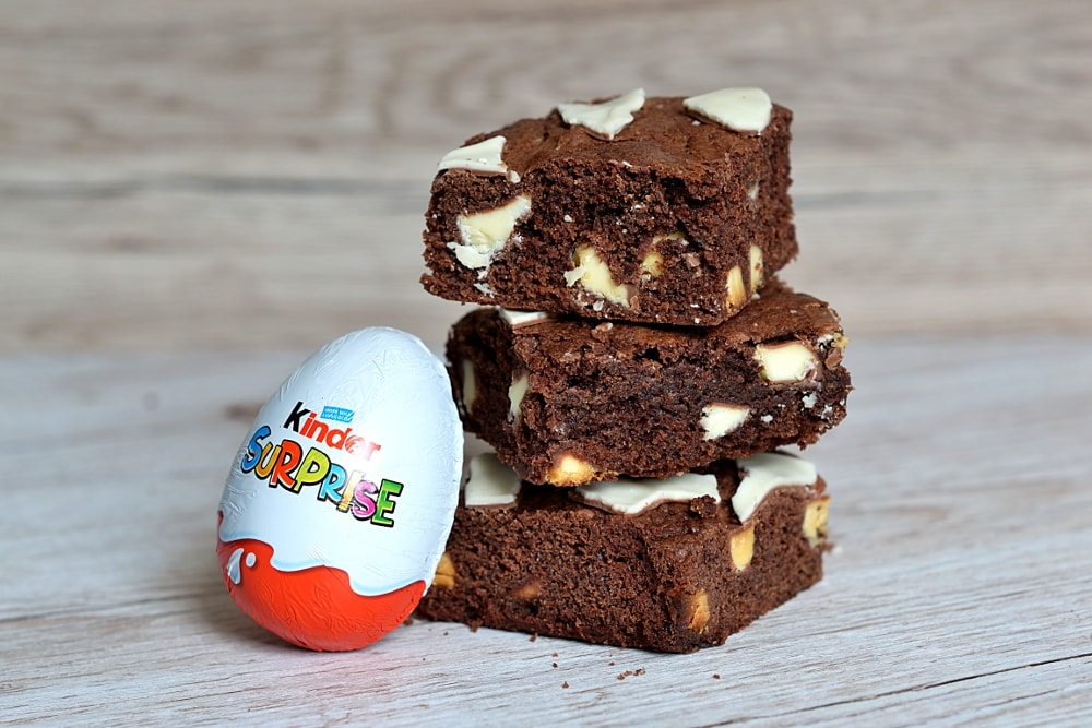 Kinder Egg Brownies