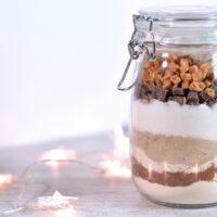Chocolate Fudge Brownies in a Jar