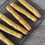 Cheese Bread Sticks recipe from Baking with Granny.