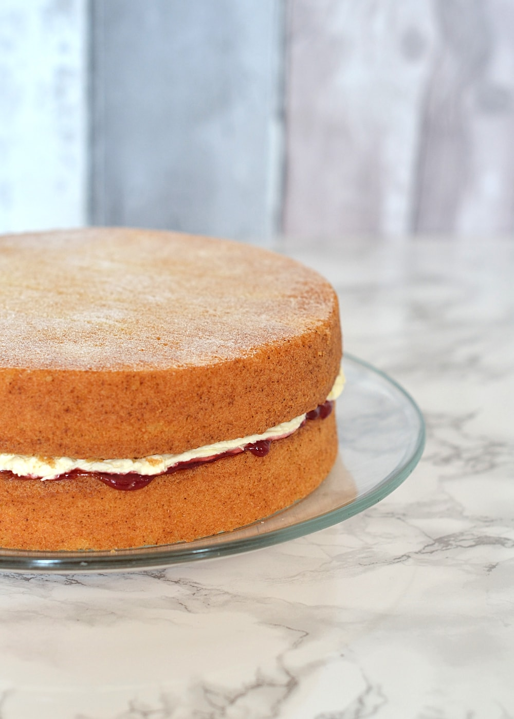 Victoria sponge baking with granny for Sponge co uk