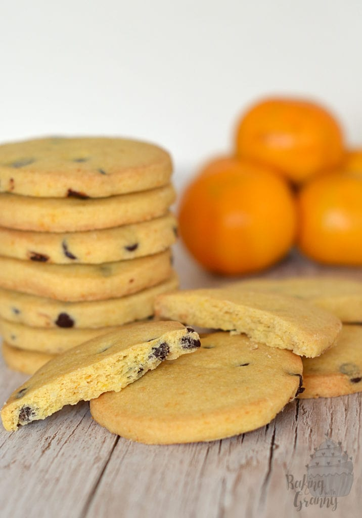 Dark Chocolate Orange Shortbread