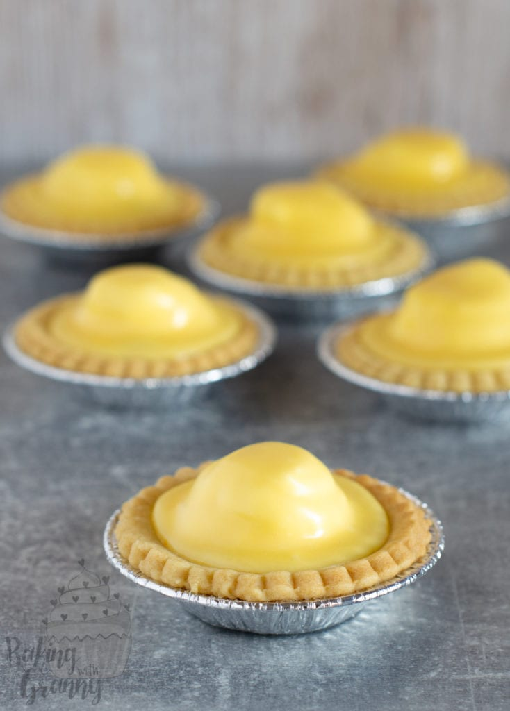 Pineapple Tarts - recipe for traditional Scottish Pineapple Tarts from Baking with Granny.