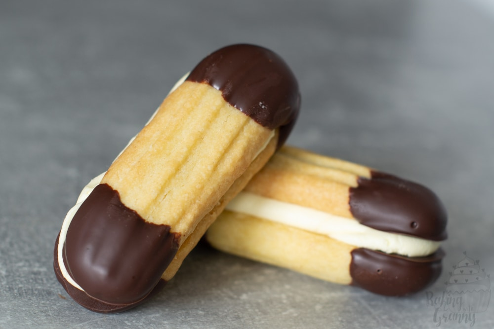 Easy Viennese fingers biscuit recipe from Baking with Granny.